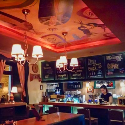 King's Caffe Coffee Pub Rijeka - Interior